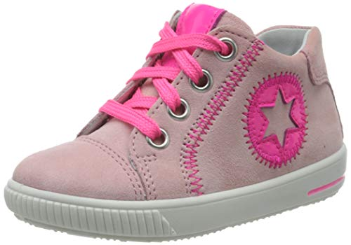 Superfit Baby Mädchen MOPPY Sneaker, Pink Rosa 55, 27 EU