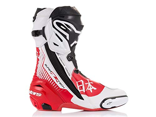 Alpinestars Racing Motorradstiefel Supertech R Boots Motegi Limited Edition, 44 EU