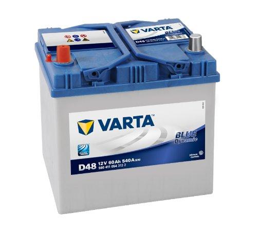 BATERÍA COCHE VARTA BLUE DYNAMIC 12V 60AH D48