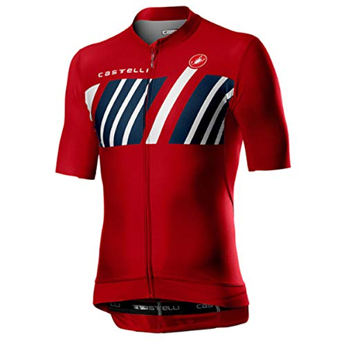 CASTELLI 4520013-023 HORS CATEGORIE Jersey Uomo Red M