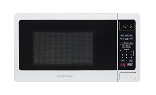 Farberware FMO07BBTWHH 0.7 Cubic Foot 700 Watt Microwave Oven, White