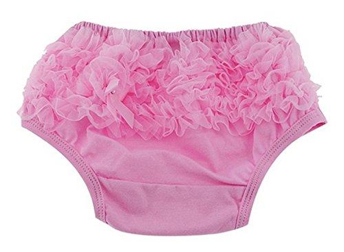 Linda Bebé Chicas Niñito Recién nacido Algodón Cordón PÁGINAS Pantalones Pololos Pañal cubiertas 3 Colores 3 Tamaños