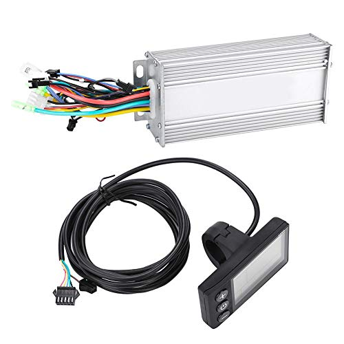 Fendysey 1000W Brushless Controller Scooter Motor Controller 1.9x1.9x3.1inch para Bicicleta eléctrica Ebike...