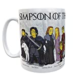 SAQUITOMAGICO Taza Simpson of Thrones