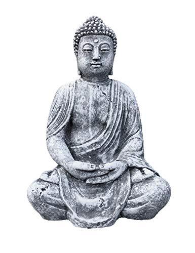 Statuette de Bouddha, faite à la main, résiste au gel, fabriquée en Allemagne
