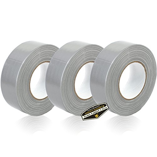 3 Rolls of Mighty Gadget (R) All- Purpose Utility Grade Duct Tape 1.88 inch x 60 Yards (Silver Gray Color)