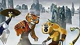 XIAOXINGXING Puzzle 1000 Piezas Piezas Jigsaw Puzzle Película de Kung Fu Panda Monkey Tiger en la Nube * incluida para Infantiles Adolescentes Puzzle Game para