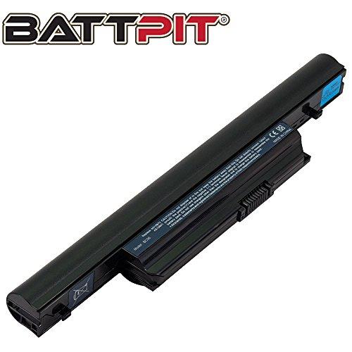 BattPit Battery for Acer Aspire 5553 5553G 5745 5745G 5745PG 7250 7739 7739G 7745 7745G (TimelineX) 4820 4820T 5820 5820T - [6-Cell/4400mAh/48Wh]