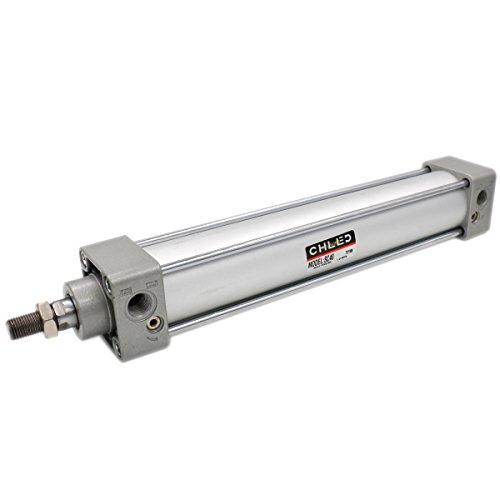 Heschen - Cilindro neumático estándar SC 40-250 PT1/4 puerto 40 mm diámetro 250 mm carrera doble efecto