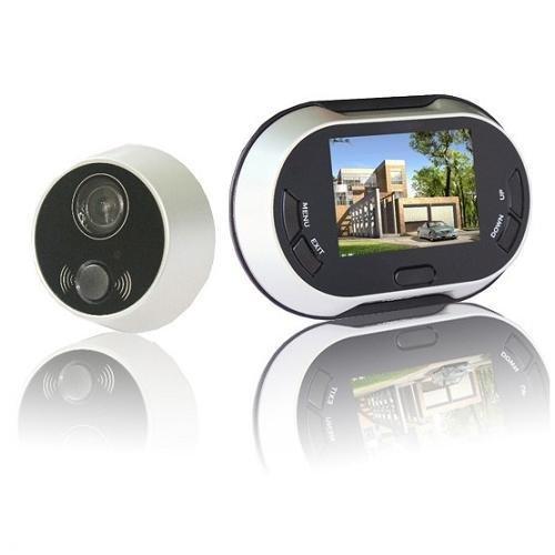 3.5 inch 170 degrees Wide Angle Peephole TFT LCD Digital Door Viewer Doorbell Security Camera Cam