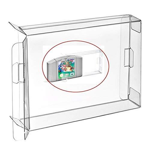 Childhood 10pcs Custodia protettiva trasparente per custodia per N64 Giochi cartuccia