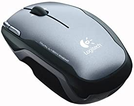 Logitech V400 Laser Cordless Notebook Mouse- Grey