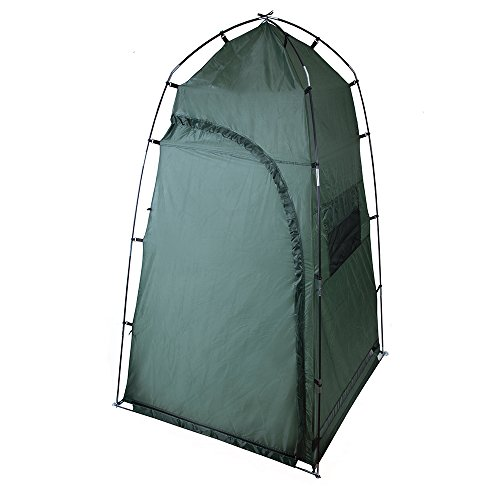 Stansport Cabana Privacy Shelter, Camp Shower, Toilet, Changing Room, 4′ x 4′ x 7′