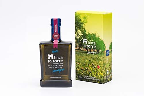 Finca la torre - Aceite De Oliva Virgen Extra Ecológico Arbequina - Botella vidrio 500 ml