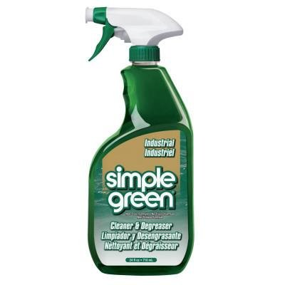 Simple Green Industrial Cleaner/Degreasers, 24 oz Spray Bottle