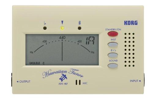 KORG HA-40, Stimmgerät / Tuner für Ukulele