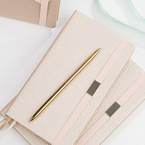 YUNYOTE 1 stuk roze champagne kantoor verband notebook binnen papieren tas lijn gestippelde rooster lege pagina's zacht dagboek geleverd notitieblok cadeau