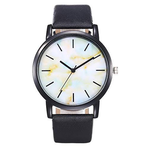 JZDH Relojes para Mujer Reloj de Cuarzo Mujer de Alta Gama de Vidrio de Gama Alta, Impermeable, a Prueba de Agua. Relojes Decorativos Casuales para Niñas Damas (Color : Pink)