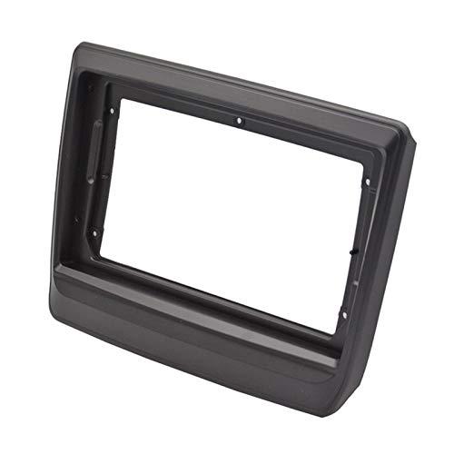 Danghe 2-1Din Car DVD Frame Audio Fitting Adaptador Dash Trim Kits Facia Panel 9 pulgadas para ISUZU D-Max MU-X 2020