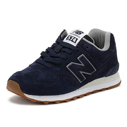 New Balance Herren 574v2 Sneaker, Blau (Pigment EPA), 45 EU