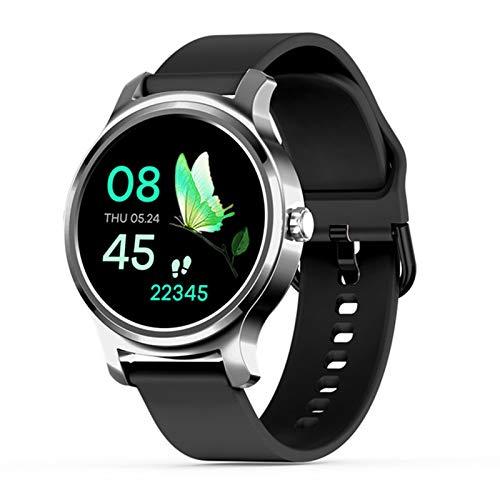 ZYDZ R2 Smart Watch Hombre Bluetooth Monitor De Ritmo Cardíaco Monitor Llame A Llamada Mensaje Recordatorio Reproductor De Música Fitness Tracker Smartwatch,F
