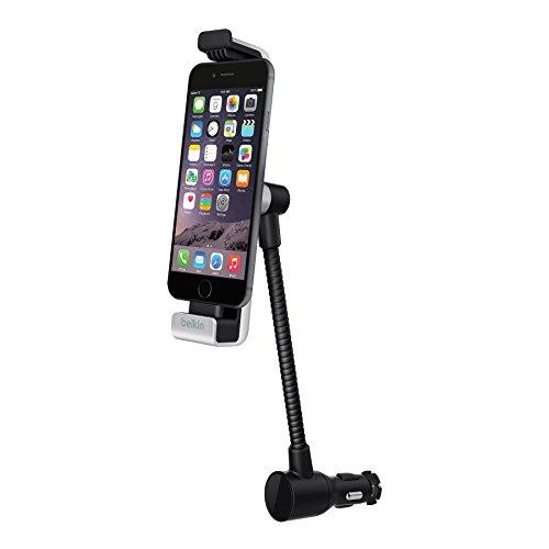Belkin Auto-Halterung zum Laden und Navigieren für iPhone 5/5s/5c, iPhone 6/6s, inkl. KfZ-Ladegerät