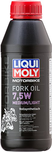 LIQUI MOLY 3099 Motorbike Fork Oil 7,5W medium/light 500 ml