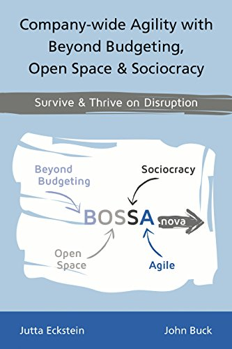 Company-wide Agility with Beyond Budgeting, Open Space & Sociocracy: Survive & Thrive on Disruption (English Edition)