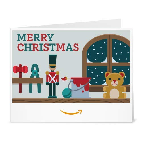 Amazon Gift Card - Print - Santa's Workshop