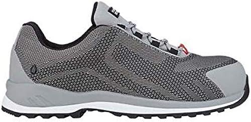 Enjauneert Strauss 8P93.71.5.47 Zardik Faible Chaussures de sécurité Blanc platine 47