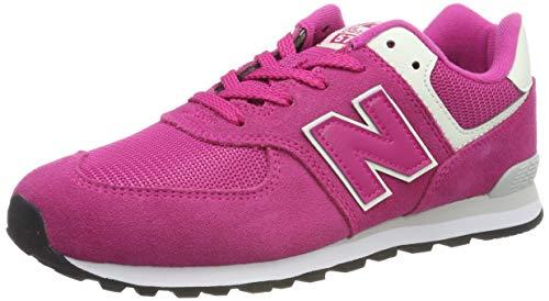 New Balance Mädchen Gc574v1 Sneaker, Pink, 39 EU