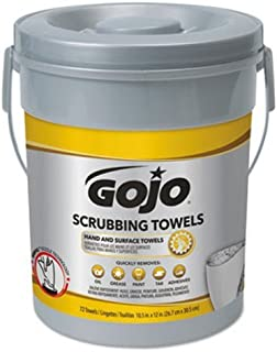 PART NO. GOJ639606 GOJO 6396-06, Scrubbing Towels, 72 Count Canister