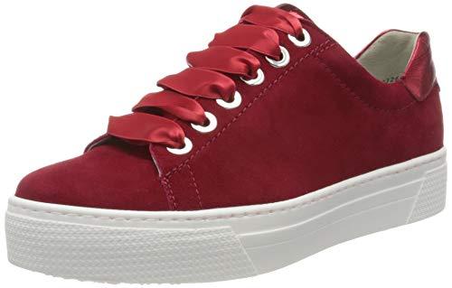 Semler Damen Alexa Sneaker, Rot (Fire 066), 37 EU