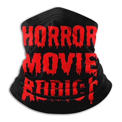 fenrris65 Terror Movie Addict - Pasamontañas multifunción para el polvo al aire libre