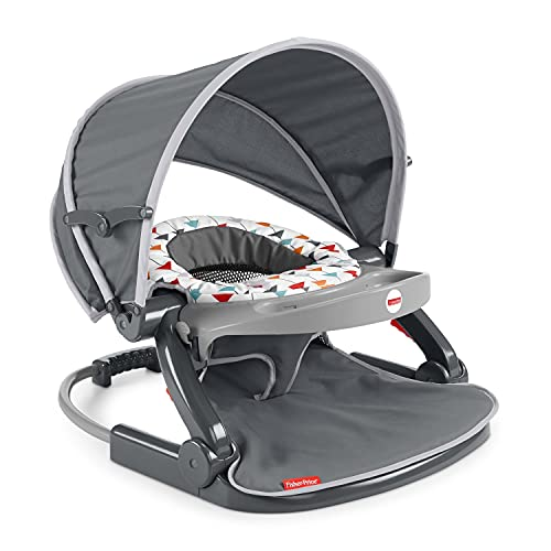 Fisher-Price On-The-Go Sit-Me-Up Floor Seat, Multi
