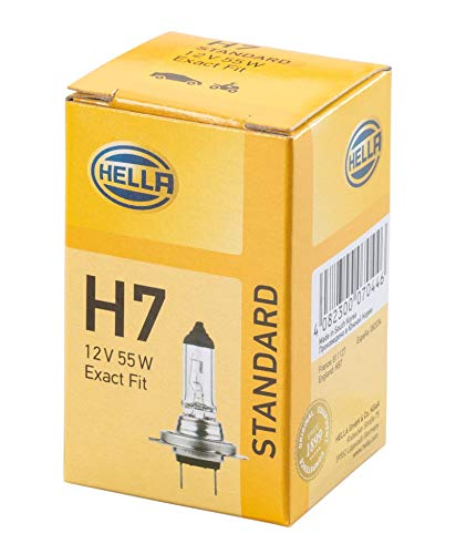 HELLA 8GH 007 157,121 Lámpara , H7 , Standard , 12V , 55W , Tipo de portalámpara: PX 26 d , caja , Cant.: 1