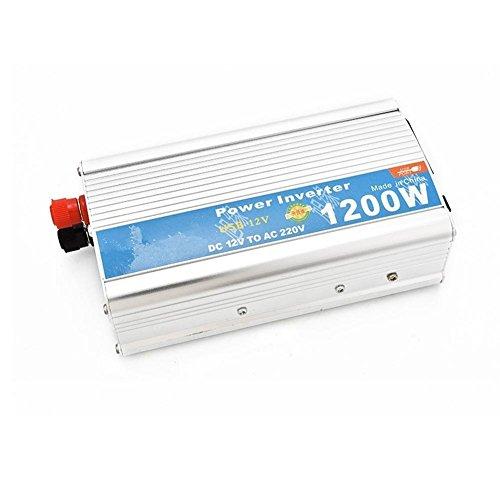 Preisvergleich Produktbild Power Inverter Auto-Wechselrichter 1200W mit USB-On-Board-Wechselrichter 12V 24V zu 220V Konverter Tablets und Telefone