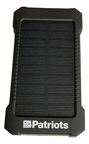Patriot Power Cell pocket sized solar USB charger 4Patriots Brand