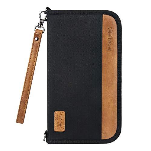 bester der welt Reiseveranstalter-Tasche mit RFID-Blocker, Evershop-Pass-Tasche, strapazierfähiger Ausweis-Tasche… 2021