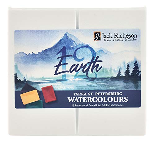St. Petersburg Watercolor Earth Plein Air Set (580123/3104)