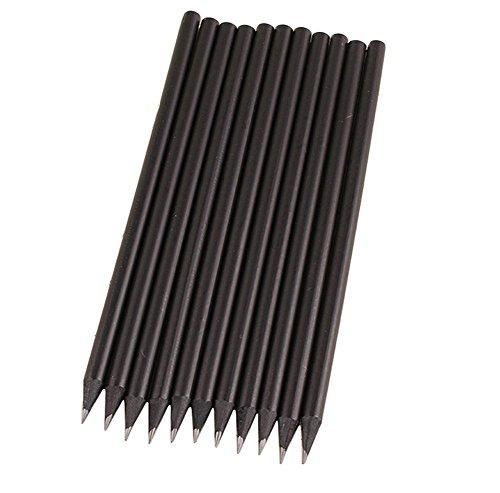 Leisial 20 Stücke Holzbleistifte Bleistift Schwarz Bleistift HB Für Studenten und Kinder