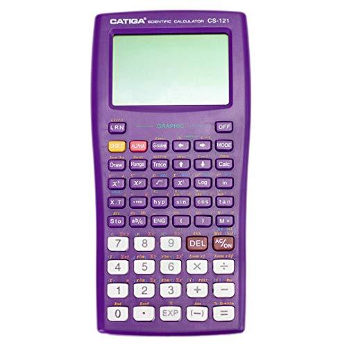 Scientific Graphic Calculator - CATIGA CS121 - Scientific and Engineering Calculator - Programmable System (Purple) (Renewed)