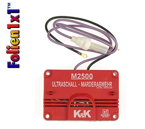 K&K Neu Marderschutz Marderabwehrgerät M2500 Ultraschallgerät 23 kHz 105 dB(A)…