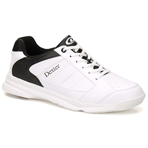 DEXTER Men's Ricky IV Wide Bowling Shoes, White/Black, Size 7