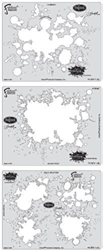 servicio considerado Artool Freehand Airbrush Templates, Splatter Template Set by Iwata-Medea Iwata-Medea Iwata-Medea  hermoso