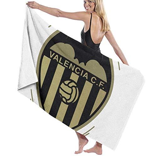 hoist Valencia 2019 Centenario Logo Rectangular Toallas de playa Toalla de baño de microfibra Alfombra de picnic Manta de viaje 70x140 cm