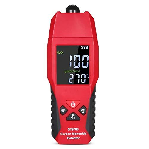 Handheld Carbon Monoxide Meter,Carbon Monoxide Tester,LCD Color Display CO...