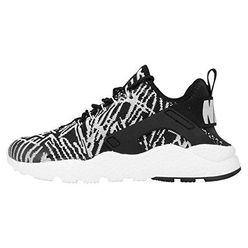 Nike W Air Huarache Run Ultra Kjcrd, Scarpe da Fitness Donna, Bianco Black White Nero, 38 EU