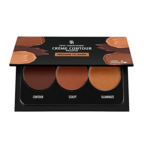 Black Radiance True Complexion Creme Contour Palette, Medium to Dark, 7.5 Gram