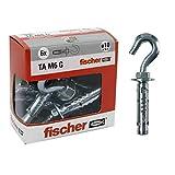 Fischer 71256 Tasselli Acciaio Ta M 6 con Gancio, Diametro 10 mm, M6